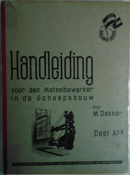 Boek Cover Handleiding voor de metaa...
