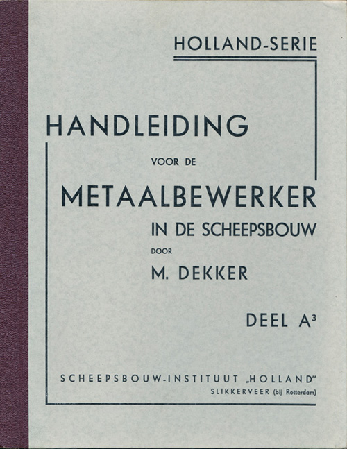 Book Cover: Handleiding voor den meta...