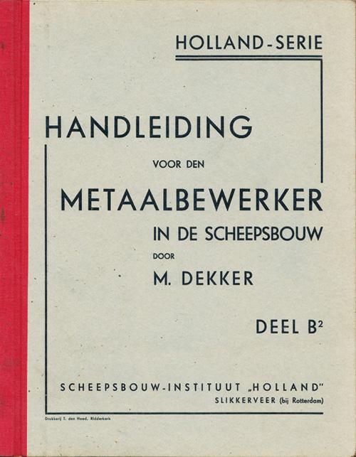 Boek Cover Handleiding voor den meta...