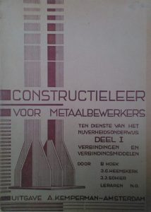 Boek Cover Constructieleer voor meta...