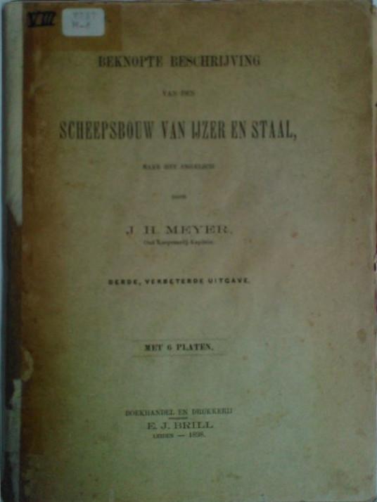 Boek Cover Beknopte beschrijving van...